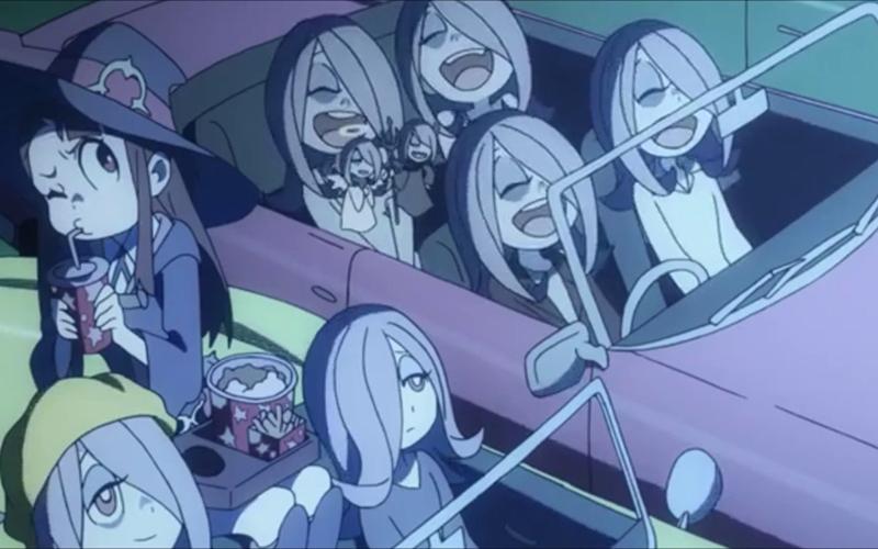 Little Witch Academia korte anime film review Netflix