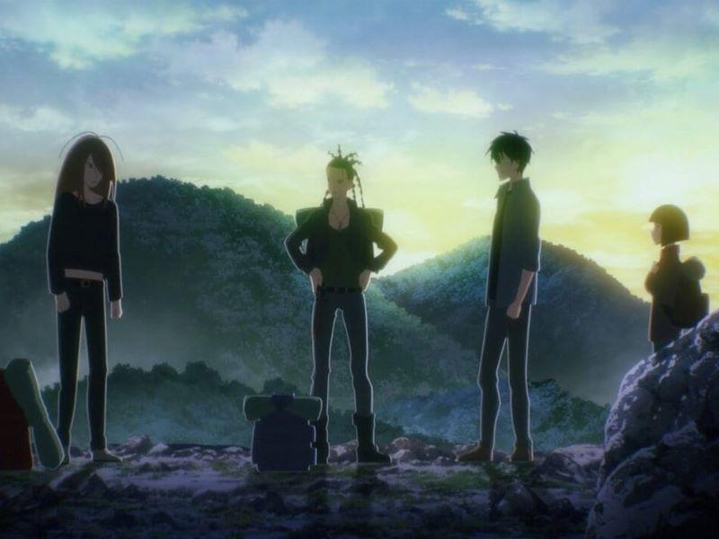 7 Seeds anime op Netflix recentie