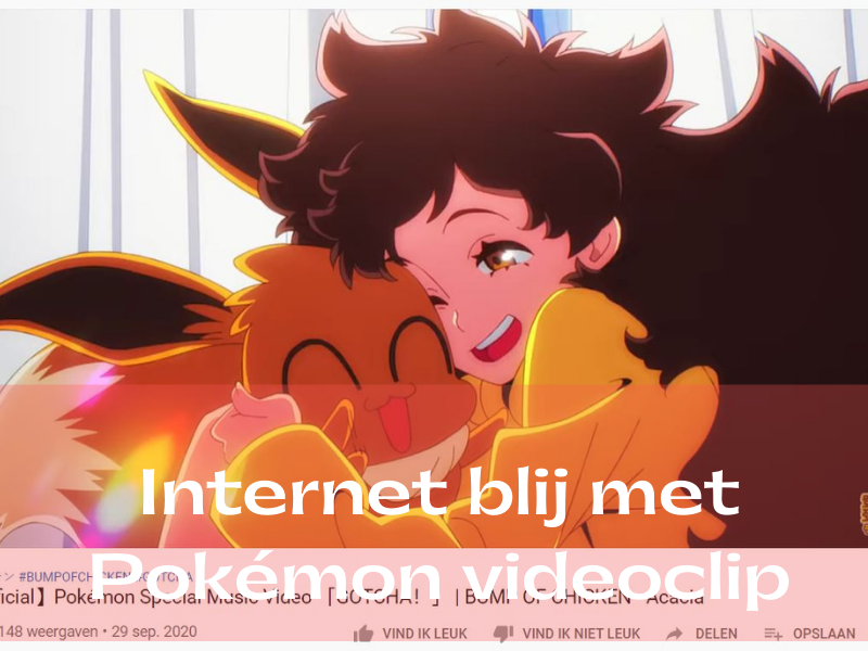 Pokémon videoclip