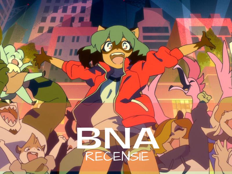BNA anime op Netflix